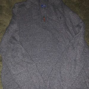 POLO Quarter Zip Sweater
